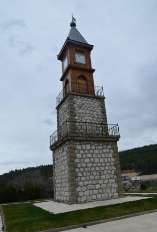 Saat Kulesi in Bilecik, Turkey