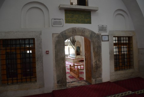 Mosque at Seyit Battal Gazi Külliyesi in Seyitgazi, Turkey