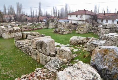 Roman bath at Aizanoi, Çavdarhisar, Turkey