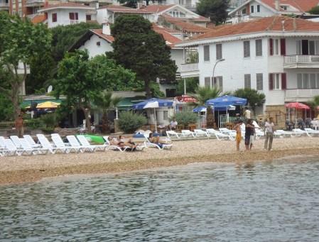 Kınalıada Beach in Kınalıada, Adalar, Istanbul, Turkey