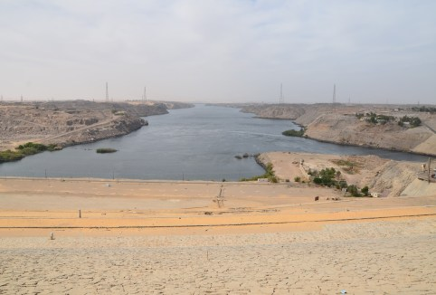 Aswan Dam in Egypt