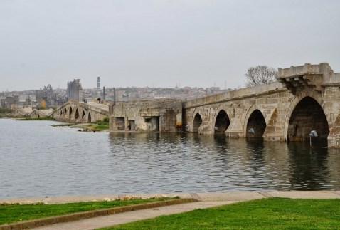 Kanuni Sultan Süleyman Köprüsü in Büyükçekmece, Istanbul, Turkey