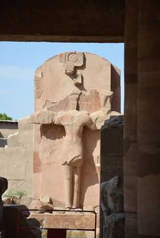 Crucifix? at Karnak Temple in Luxor, Egypt