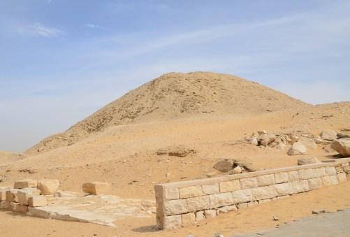 Pyramid of Teti at Saqqara, Egypt