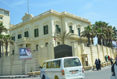 Italian Consulate in Alexandria, Egypt