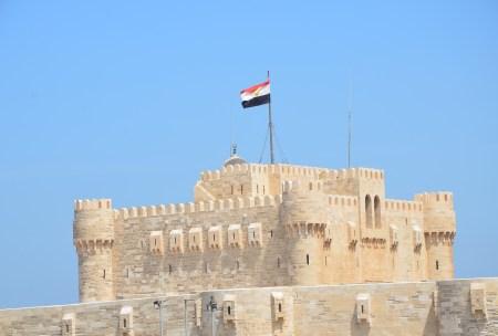 Qaitbay Fortress in Alexandria, Egypt