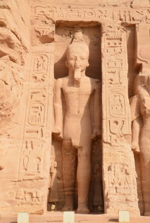Temple of Hathor and Nefertari at Abu Simbel, Egypt