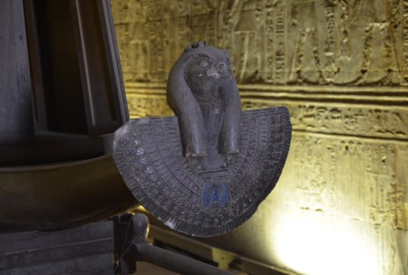 Holy of Holies at the Temple of Edfu, Egypt