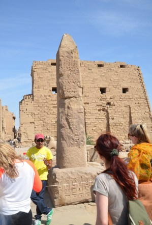 Obelisk at Karnak Temple in Luxor, Egypt