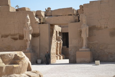 Temple of Ramses III at Karnak Temple in Luxor, Egypt