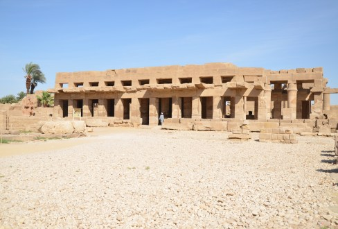 Festival Temple of Tuthmosis III at Karnak Temple in Luxor, Egypt