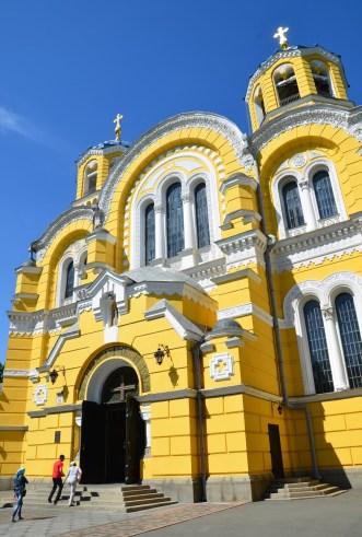 St. Volodymyr's Cathedral in Kiev, Ukraine