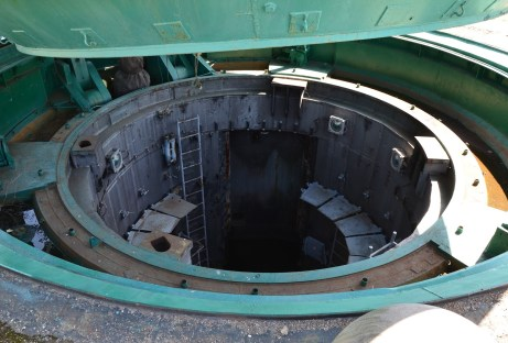 Missile silo at Strategic Missile Forces Museum near Pobuzke, Ukraine