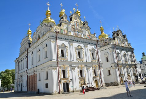 Uspenskij Cathedral at Kiev Pechersk Lavra in Kiev, Ukraine