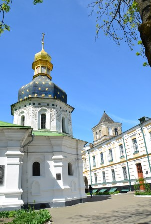 Church of St. Nicholas the Wonderworker at Kiev Pechersk Lavra in Kiev, Ukraine