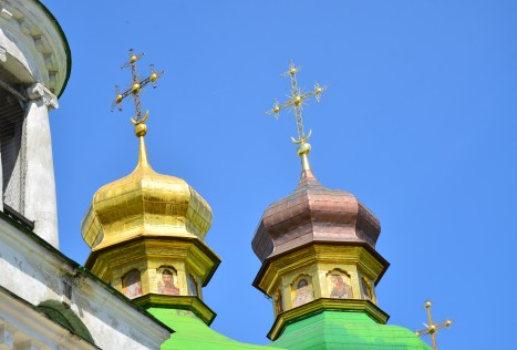 Church of the Saviour at Berestove at Kiev Pechersk Lavra in Kiev, Ukraine