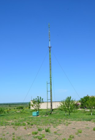Antenna at Strategic Missile Forces Museum near Pobuzke, Ukraine