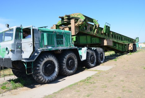 UKP Loader MAZ-537 at Strategic Missile Forces Museum near Pobuzke, Ukraine