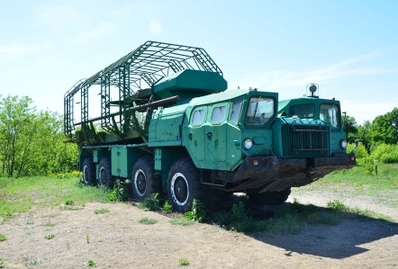Specialized Vehicle at Strategic Missile Forces Museum near Pobuzke, Ukraine