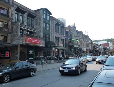Rue Crescent in Montréal, Québec, Canada