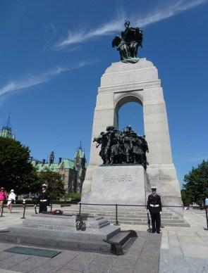 National War Memorial in Ottawa, Ontario, Canada