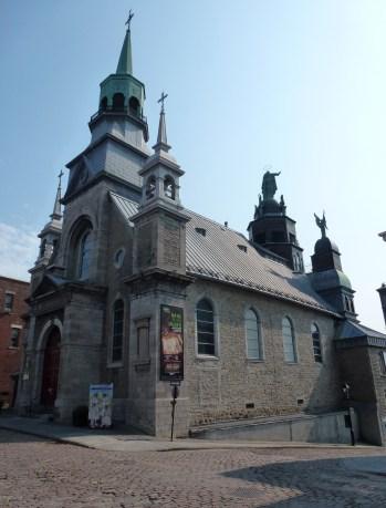 Chapelle Notre-Dame-de-Bon-Secours in Vieaux-Montréal, Québec, Canada