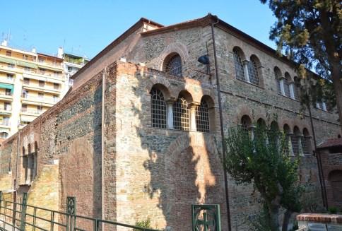 Church of Panagia Acheiropoiitos in Thessaloniki, Greece