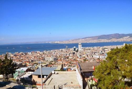 The view from Kadifekale in Izmir, Turkey