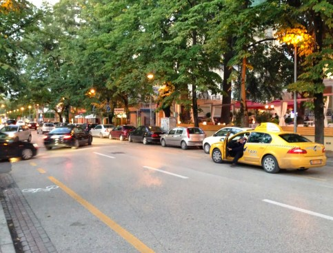 Blloku in Tiranë, Albania