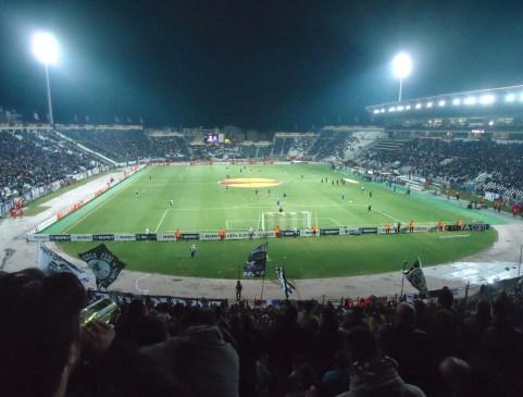 Toumba Stadium in Thessaloniki, Greece