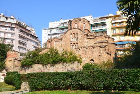 Church of St. Panteleimon in Thessaloniki, Greece