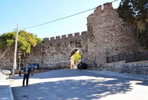 Kadifekale in Izmir, Turkey