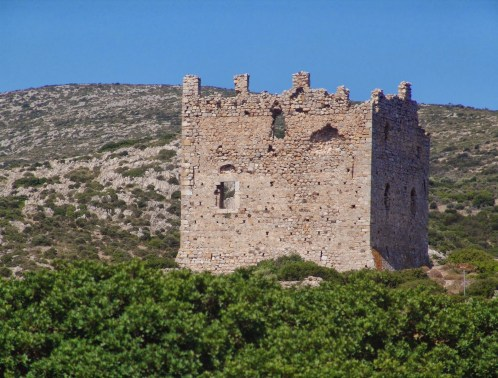 Dotia Tower in Chios, Greece