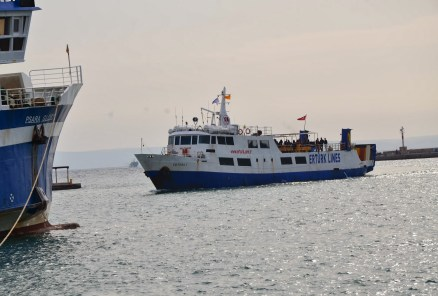Ertürk Lines (ferry between Chios and Çeşme, Turkey) in Chios, Greece