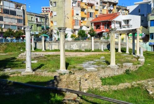 Basilica in Durrës, Albania