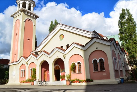 Orthodox Church of the Holy Annunciation in Tiranë, Albania
