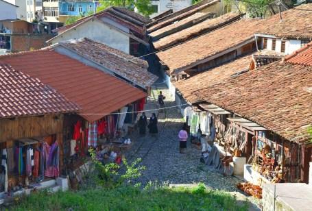 Old Bazaar in Krujë, Albania