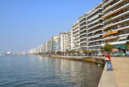 Leoforos Nikis in Thessaloniki, Greece