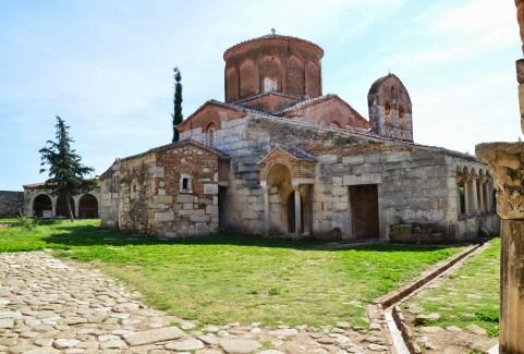 Ardenica Monastery in Apollonia, Albania