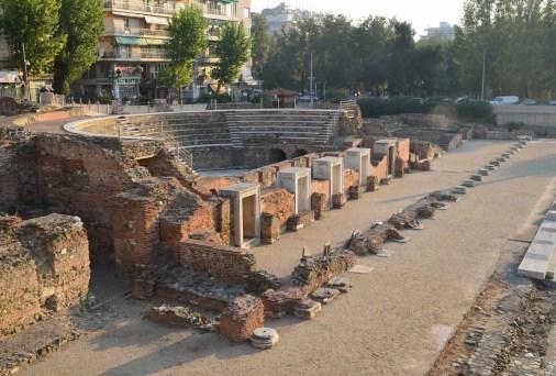Roman Forum in Thessaloniki, Greece