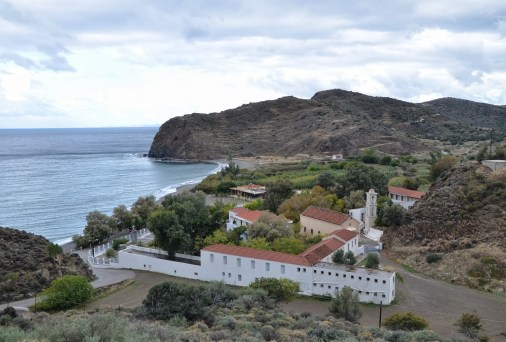 Monastery of Agia Markella in Chios, Greece