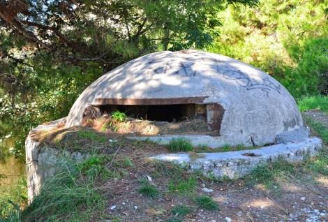 Bunker in Durrës, Albania