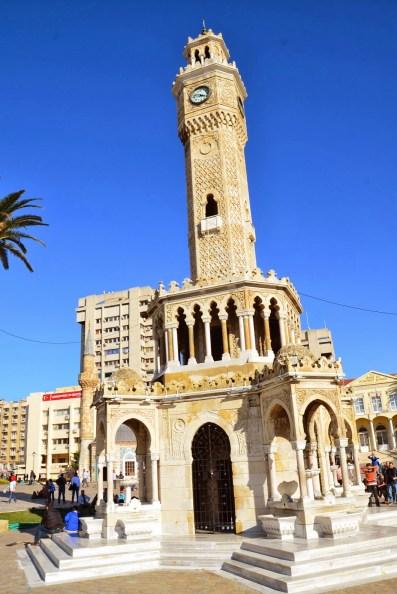 İzmir Saat Kulesi in Izmir, Turkey