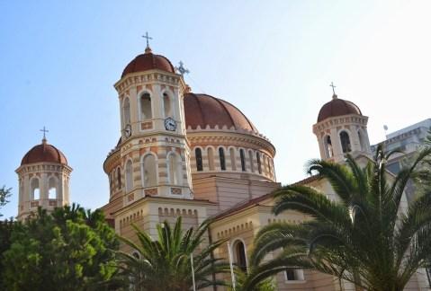 Metropolitan Church of St. Gregory Palamas in Thessaloniki, Greece