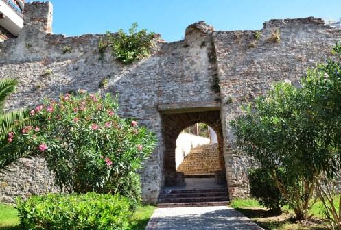 Byzantine walls in Durrës, Albania
