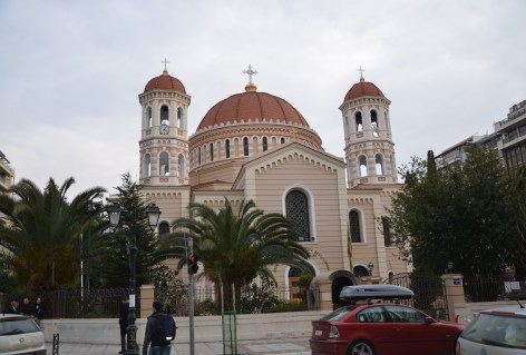 Metropolitan Cathedral of St. Gregory Palamas in Thessaloniki, Greece