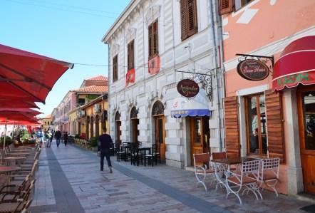 Kolë Idromeno in Shkodër, Albania