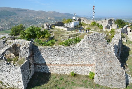 Fortress in Berat, Albania