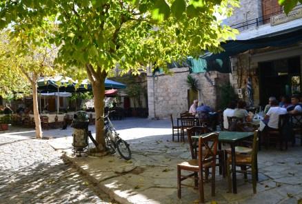 O Mesaionas in Mesta, Chios, Greece