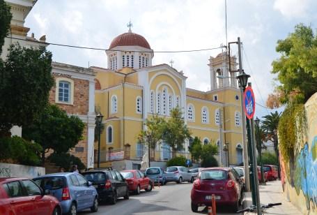 Metropolitan Church of Chios in Chora, Chios, Greece